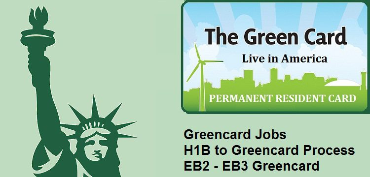 Greencard Sponsors | Green Card Employers | Green card Jobs in USA